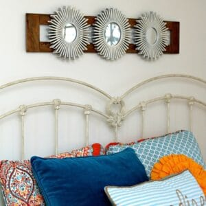 How I upcycled thrift store mirrors