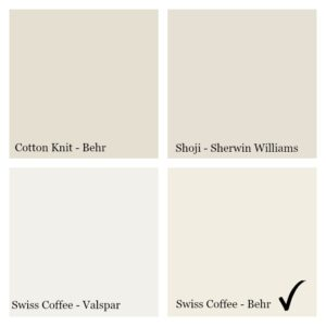 How to choose the perfect white paint for your walls
