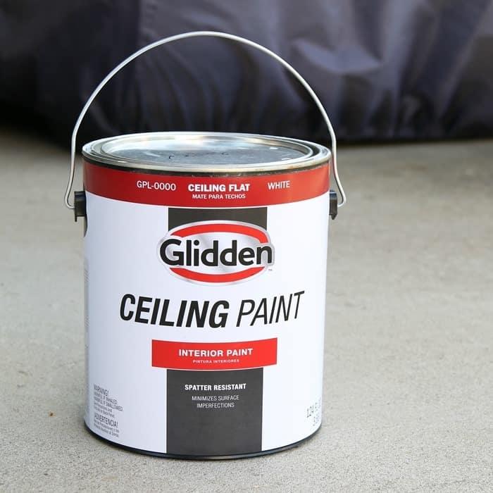 Glidden White Ceiling Paint