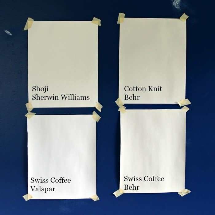 White Paint Color For Bedroom Walls