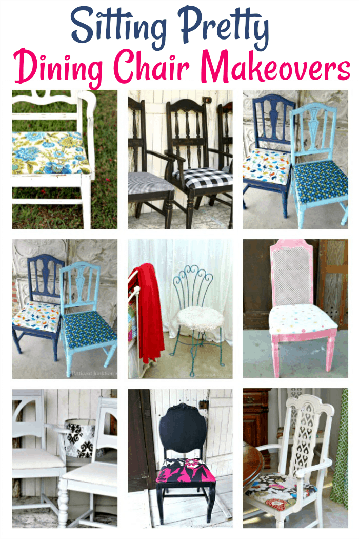 Dining room chair makeovers