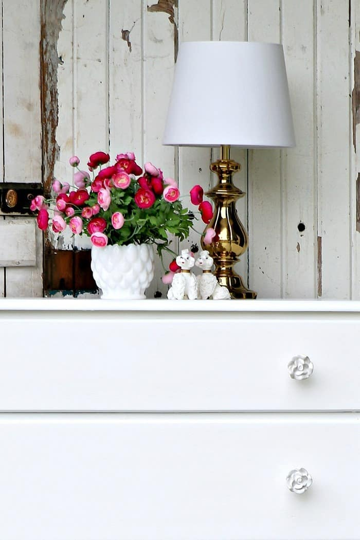 Furniture Obsession Simple Sophisticated White Dresser