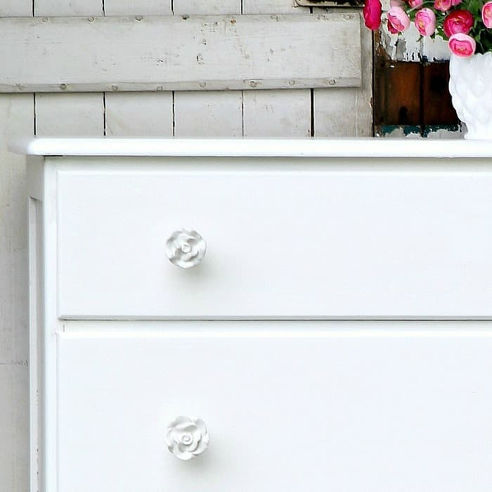 Sophisticated White Dresser