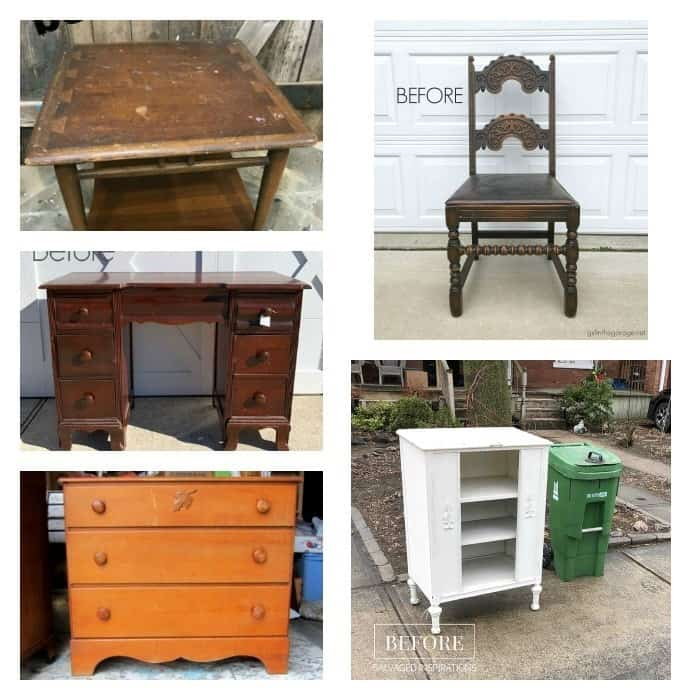 furniture fixer upper projects before makeover