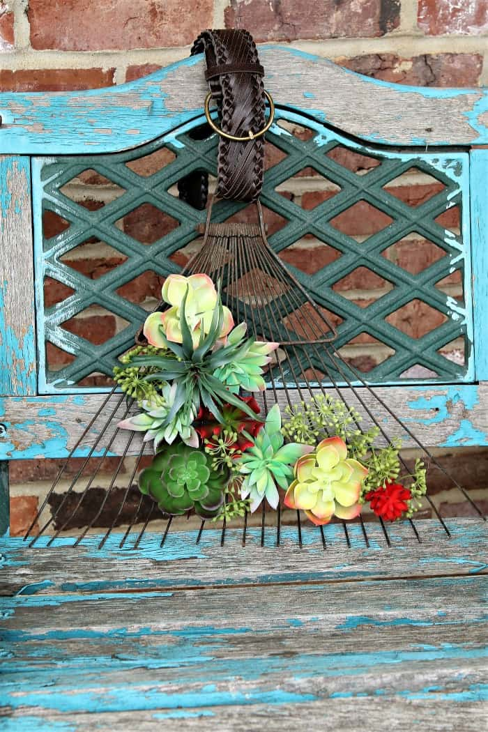 make a succulent wreath for the front door