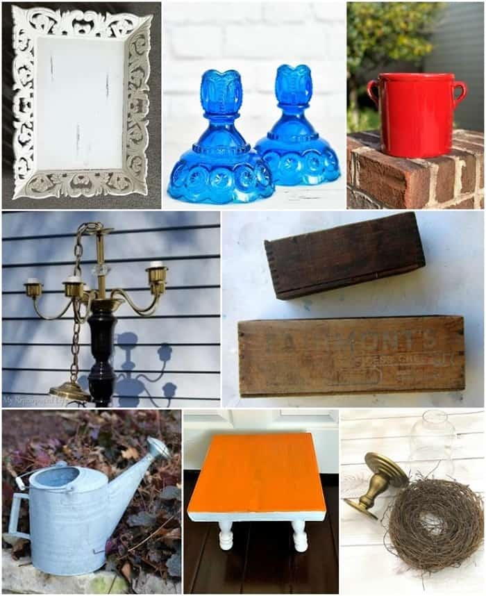 thrift store decor projects March 2020