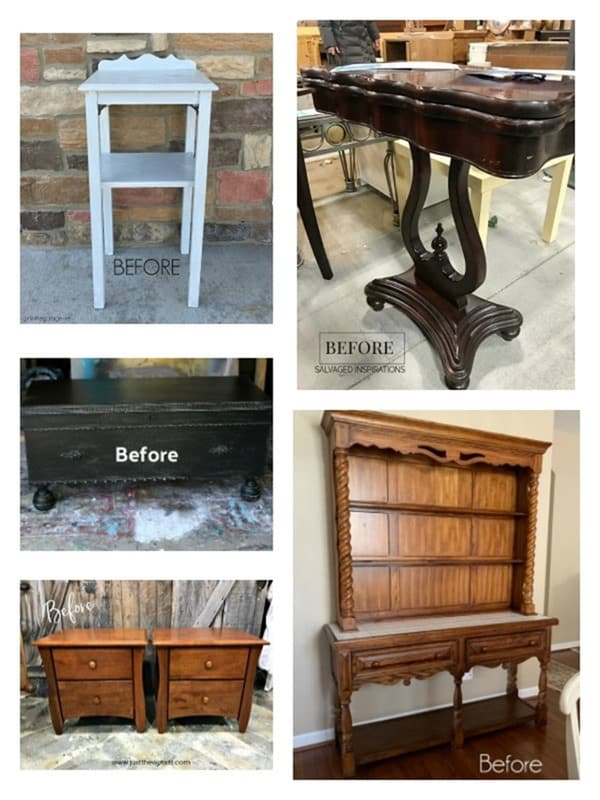 Furniture Fixer Upper makeover projects