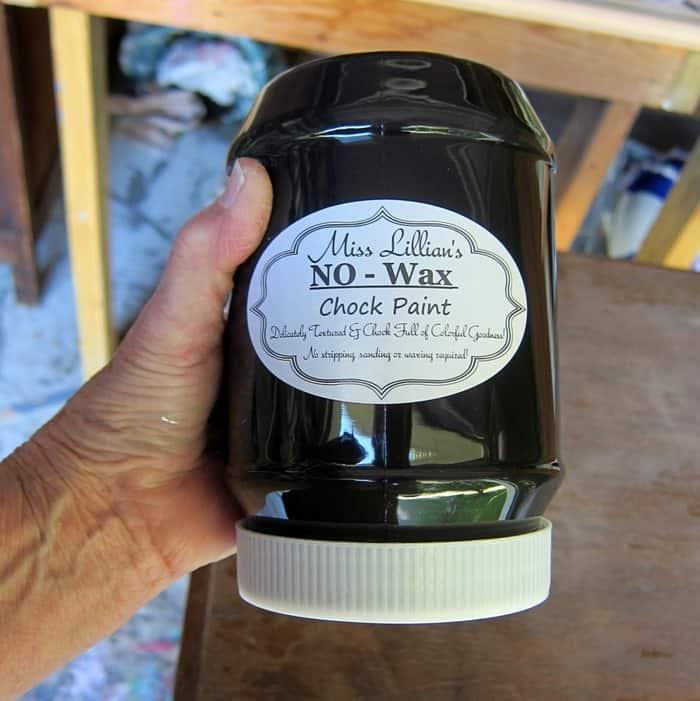 Miss Lillians No-Wax Chock Paint