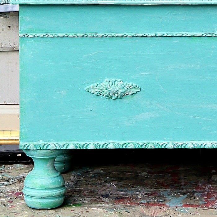 How To Color Wash Painted Furniture