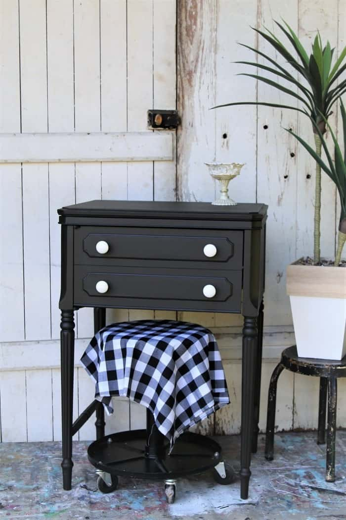 reclaim and recycle old furniture with paint