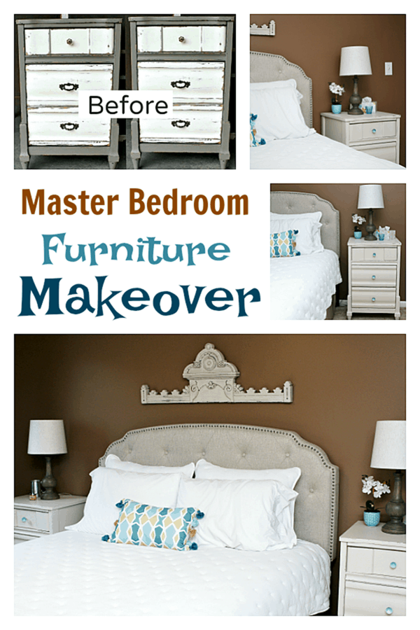 Master bedroom furniture makeover