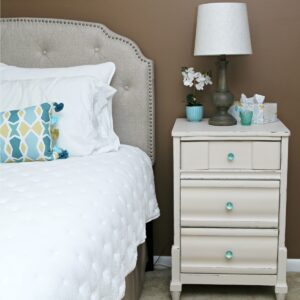 Paint Bedroom Furniture Using White Paint Tinted With Room Color Paint