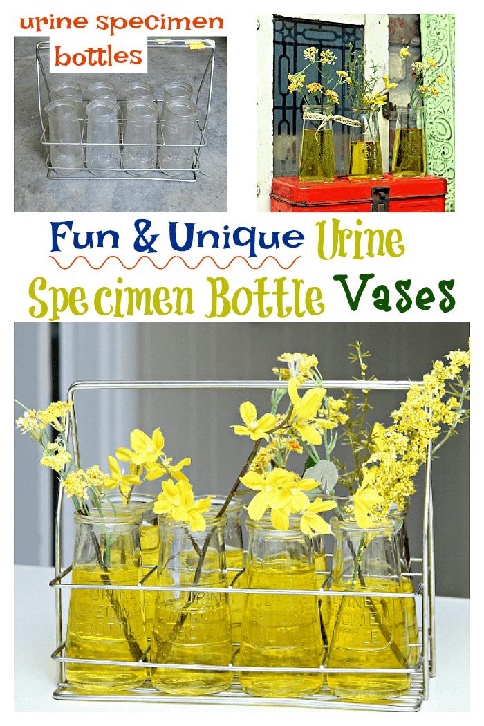 fun and unique urine specimen bottle vases