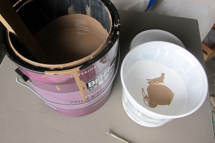 making custom mix paint for bedroom furniture