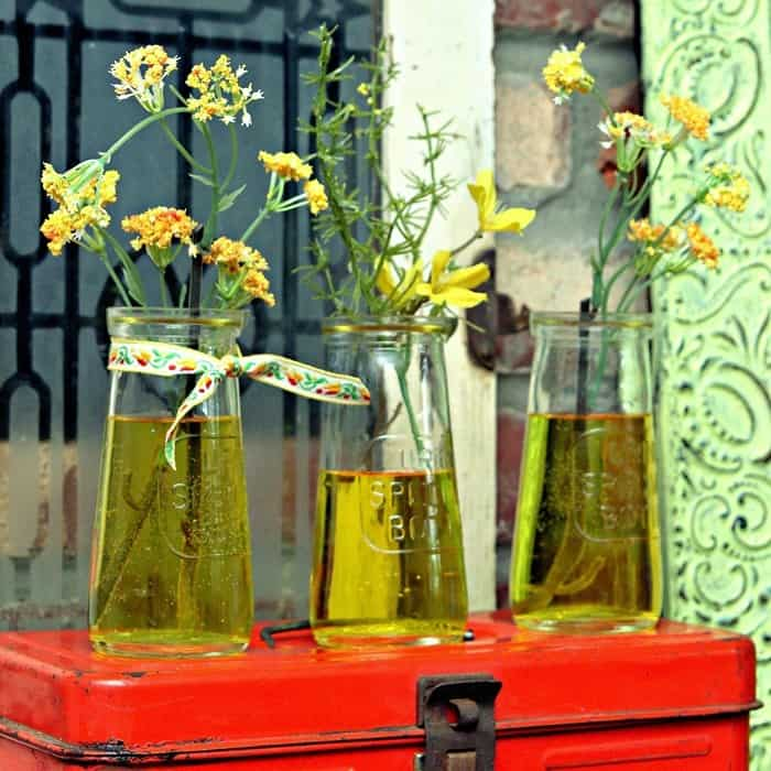recycle and upcycle old urine specimen bottles