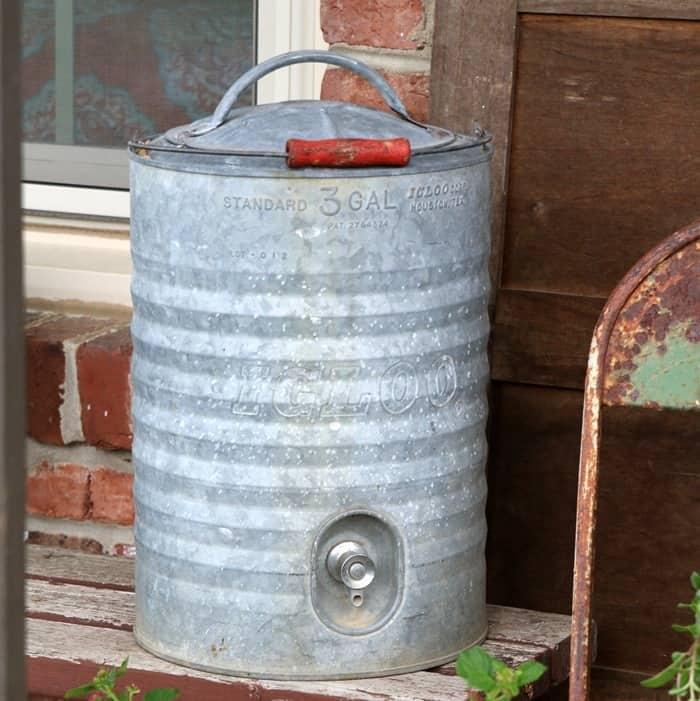 vintage Igloo cooler