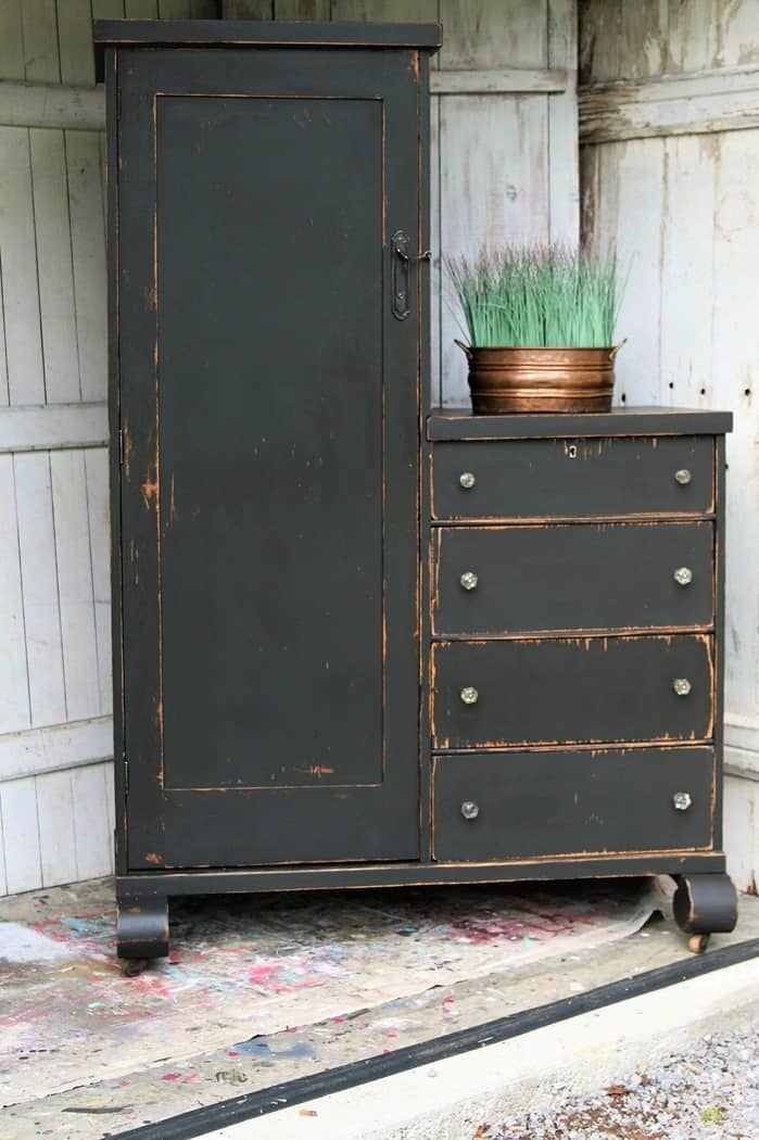 If Painting Antique Wood Furniture Makes You Happy Then Go For It