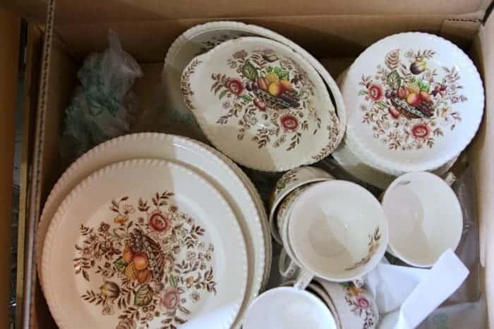 Johnson Brothers Pomona vintage dinnerware