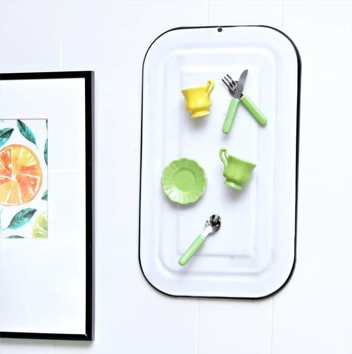 DIY miniature tea cup magnets