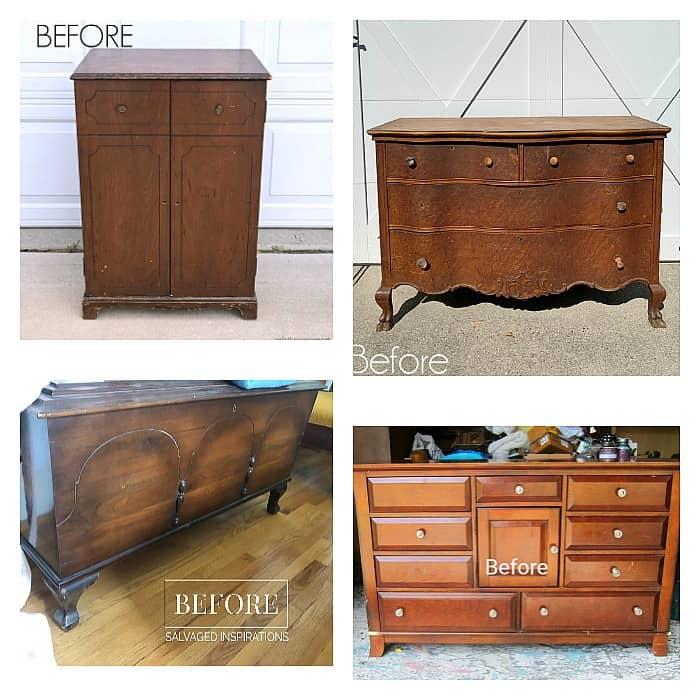 Furniture Fixer Upper Before Furniture Makeovers