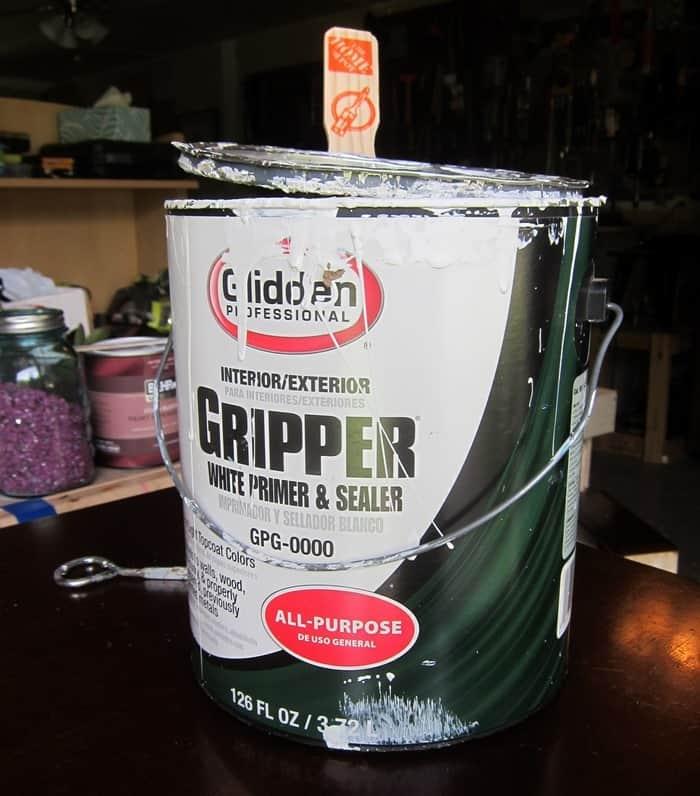 Glidden Gripper Primer for Furniture painting