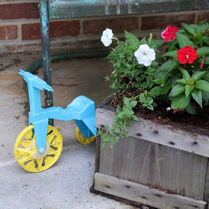 add touches of whimsy with vintage toys