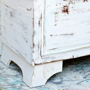 Lane cedar chest paint makeover