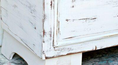 Lane cedar chest paint makeover