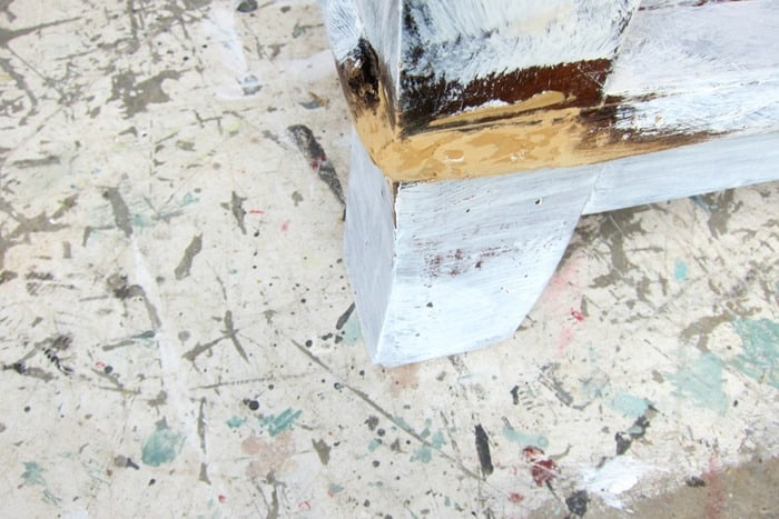 how to fill holes in wood furniture with wood putty