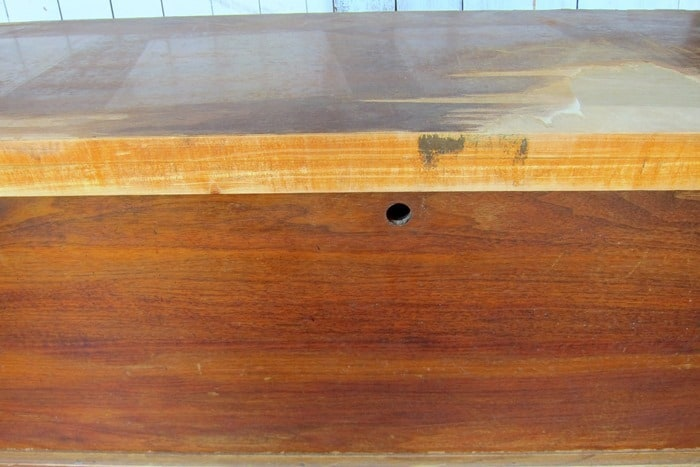 how to remove the lock from a Lane cedar chest