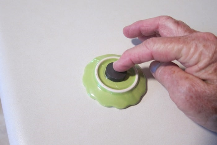making DIY miniature tea set magnets
