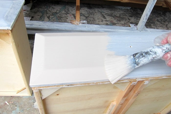 off-white custom color latex paint