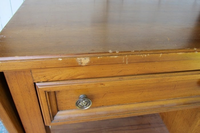 scars on furniture need to be touched up