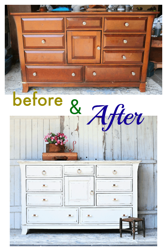custom paint color for furniture makeovers