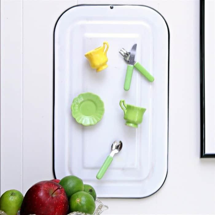 miniature DIY tea cup magnets