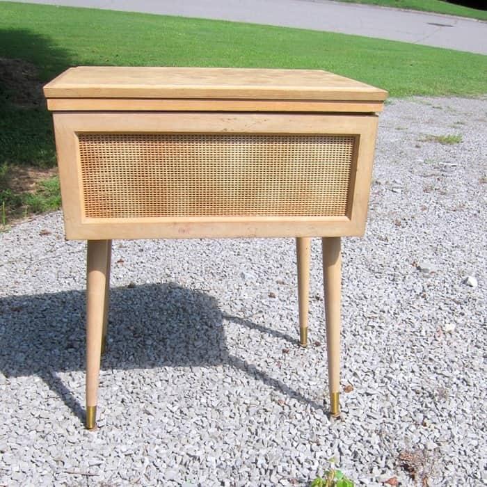 Mid Century Modern Sewing Machine Cabinet