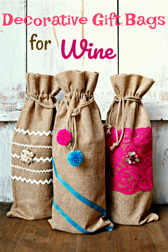 how to decorate bags