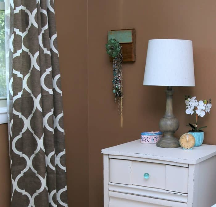 master bedroom furniture painted creamy white with custom paint color (2)
