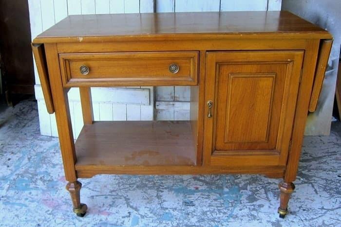 vintage furniture piece for makeover
