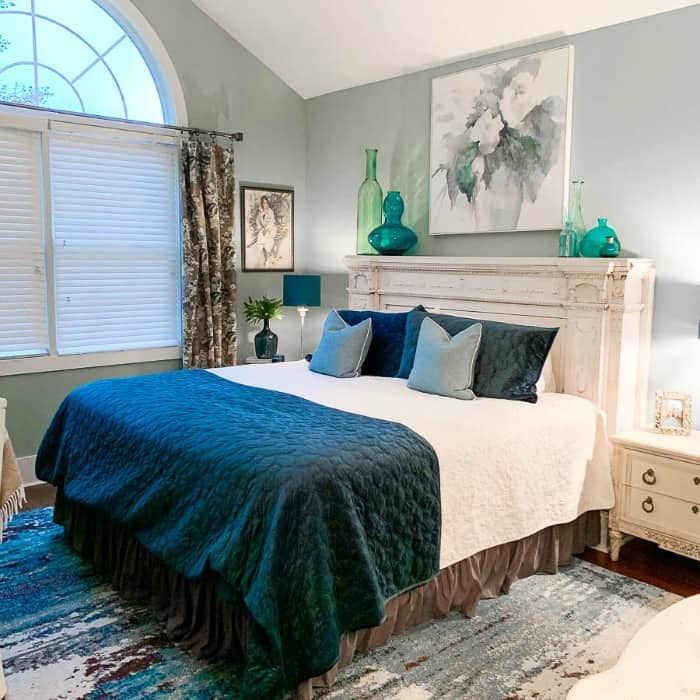 2beesinapod Teal-Master-Bedroom-Refresh