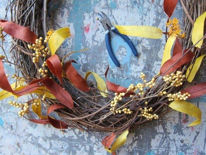 DIY Front Door Wreath Tutorial