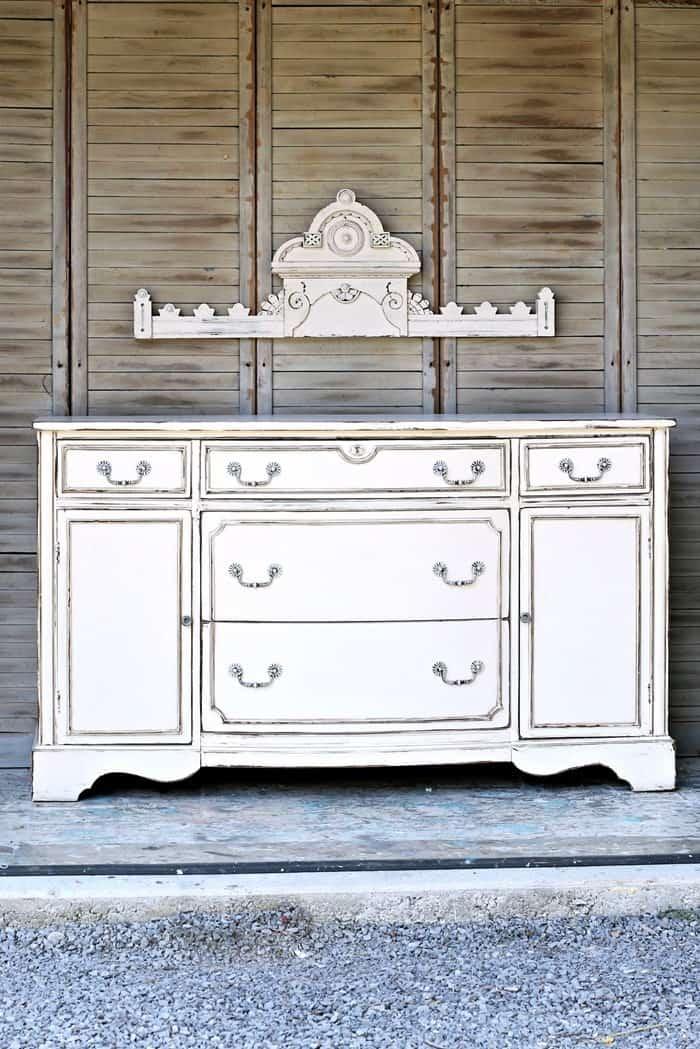 antique white furniture