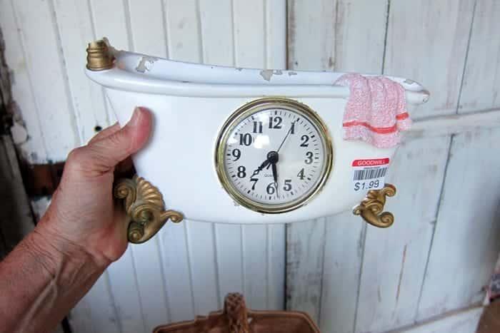 bathtub clock for bathroom