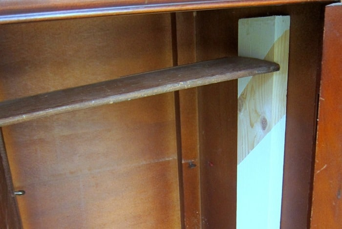 how to support wood filler while it dries