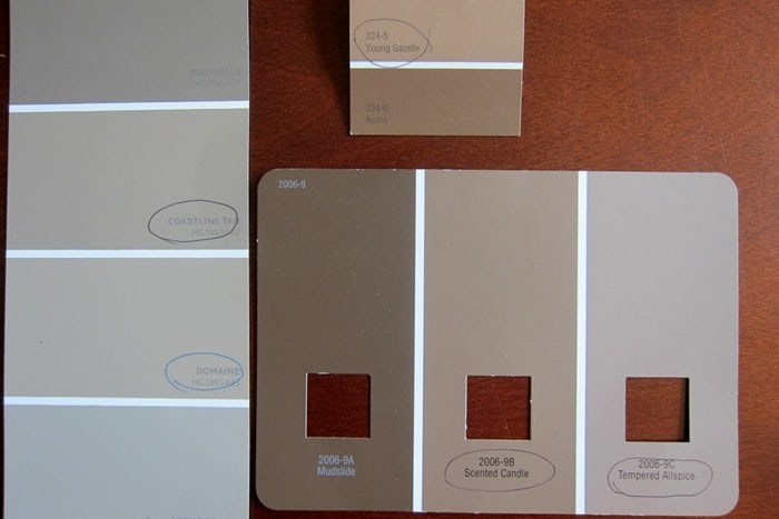paint color chips for bedroom wall color