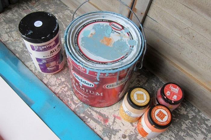 paint for pumpkin project.