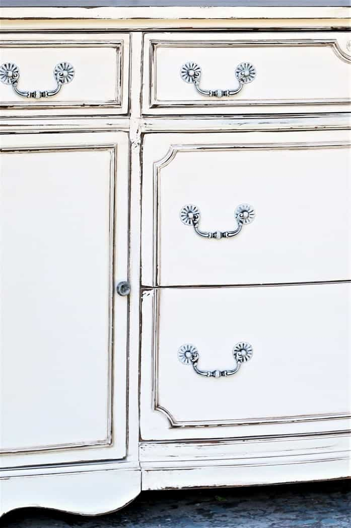 popular antique white paint finish for furniture