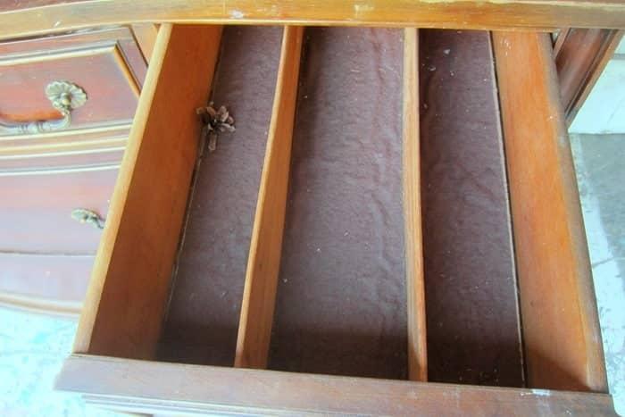 ugly felt sideboard silverware drawer liner