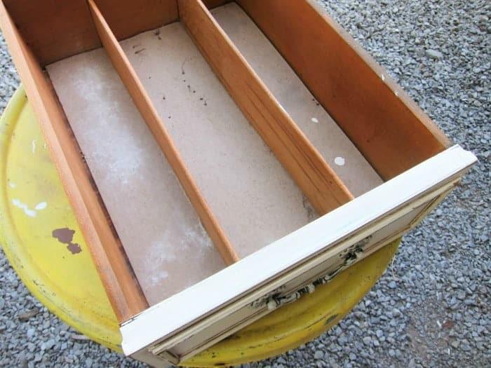 vintage sideboard silverware drawer