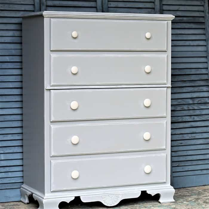 Behr Gray Oops Paint Furniture Makeover (3)